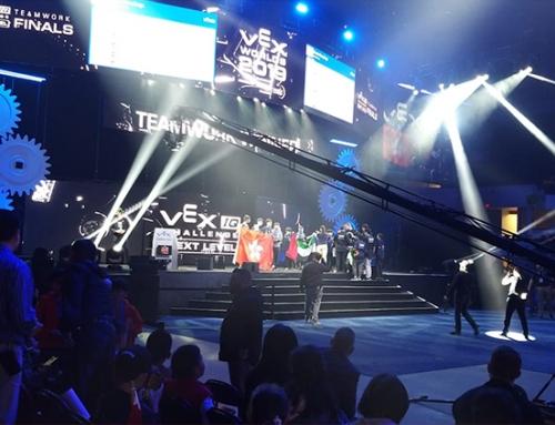 2019VEX機械人世界錦標賽港澳隊報捷